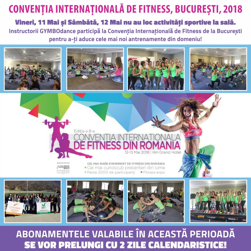 Afis conventia de fitness Scandinavia afis program
